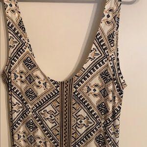 NWOT Volcom Southwest Aztec Bodycon Dress